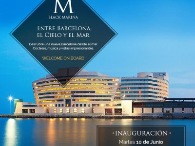 Welcome on Board. Black Marina Terraza.